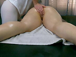 Is this your Wife? Masseur Masturbate Clients Pussy on tap Massage Room!