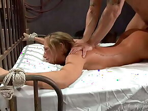 Carter Journey bound and anal fucked by Mr Pete NO MERCY