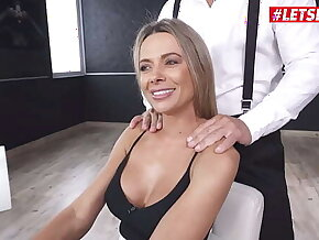 LETSDOEIT - #Shalina Devine #Christian Clay - Sexy Romanian MILF Babe Rides A Huge Cock Anal On Her First HER LIMIT Shooting