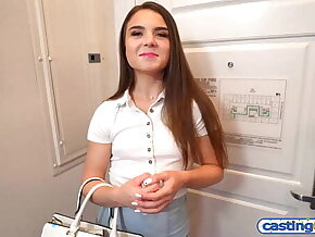 Super hot amateur teen offered 2000 dollars for sex on a fake casting